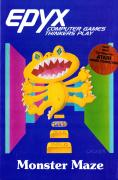 Monster Maze Atari 8-bit Front Cover