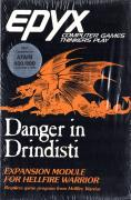 Danger in Drindisti Atari 8-bit Front Cover
