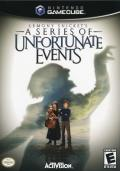 Lemony Snicket's A Series of Unfortunate Events GameCube Front Cover