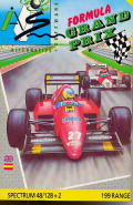 Formula One ZX Spectrum Front Cover
