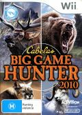 Cabela's Big Game Hunter 2010 Wii Front Cover