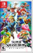 Super Smash Bros. Ultimate Nintendo Switch Front Cover 1st version