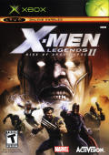X-Men: Legends II - Rise of Apocalypse Xbox Front Cover