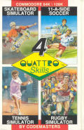Quattro Skills Commodore 64 Front Cover