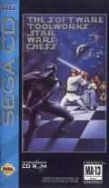 The Software Toolworks' Star Wars Chess SEGA CD Front Cover