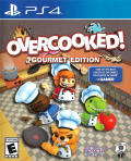 Overcooked: Gourmet Edition PlayStation 4 Front Cover