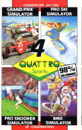 Quattro Sports Commodore 64 Front Cover