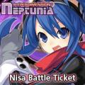 Hyperdimension Neptunia: Nisa Battle Ticket PlayStation 3 Front Cover