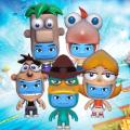 Disney Universe: Phineas and Ferb Level Pack PlayStation 3 Front Cover