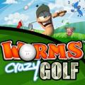 Worms Crazy Golf PlayStation 3 Front Cover 2nd version