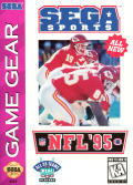 NFL '95 Game Gear Front Cover