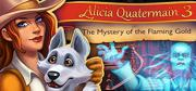 Alicia Quatermain 3: The Mystery of the Flaming Gold Macintosh Front Cover