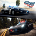 Need for Speed: Rivals - Simply Jaguar Cops PlayStation 4 Front Cover