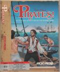 Sid Meier's Pirates! Apple II Front Cover Includes spine on left (folder-style packaging)