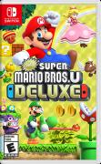 New Super Mario Bros. U Deluxe Nintendo Switch Front Cover