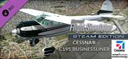 Microsoft Flight Simulator X: Steam Edition - Cessna C195 Businessliner Windows Front Cover