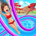 Uphill Rush: Water Park Racing iPad Front Cover