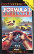 Formula 1 Simulator ZX Spectrum Front Cover