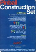 Pinball Construction Set Apple II Back Cover