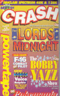 Crash Powertape September 1991 ZX Spectrum Front Cover