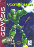 VectorMan Genesis Front Cover