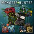 Monster Hunter: World - Sticker Set: Monsters of the New World PlayStation 4 Front Cover