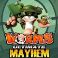 Worms: Ultimate Mayhem PlayStation 3 Front Cover