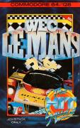 WEC Le Mans 24 Commodore 64 Front Cover
