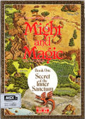 Might and Magic: Book One - Secret of the Inner Sanctum MSX Front Cover