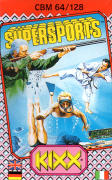 Supersports: The Alternative Olympics Commodore 64 Front Cover