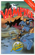 Vampire Commodore 64 Front Cover