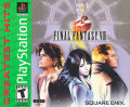 Final Fantasy VIII PlayStation Front Cover
