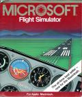 Microsoft Flight Simulator Macintosh Front Cover