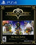 Kingdom Hearts: The Story So Far PlayStation 4 Front Cover