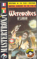 Werewolves of London Amstrad CPC Front Cover