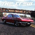 The Crew: Chevrolet Corvette C2 PlayStation 4 Front Cover