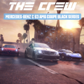 The Crew: Mercedes-Benz C 63 AMG Coupe Black Series PlayStation 4 Front Cover