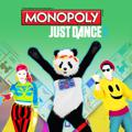Monopoly Plus: Just Dance PlayStation 4 Front Cover
