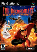 The Incredibles: Rise of the Underminer PlayStation 2 Front Cover