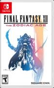 Final Fantasy XII: The Zodiac Age Nintendo Switch Front Cover 1st version