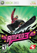 Amped 3 Xbox 360 Front Cover