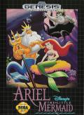 Disney's Ariel the Little Mermaid Genesis Front Cover