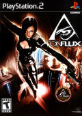 Æon Flux PlayStation 2 Front Cover