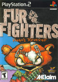 Fur Fighters PlayStation 2 Front Cover