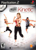 EyeToy: Kinetic PlayStation 2 Front Cover