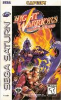 Night Warriors: Darkstalkers' Revenge SEGA Saturn Front Cover