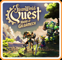 SteamWorld Quest: Hand of Gilgamech Nintendo Switch Front Cover 1st version