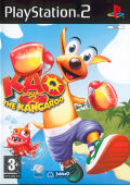 Kao the Kangaroo Round 2 PlayStation 2 Front Cover
