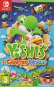 Yoshi's Crafted World Nintendo Switch Front Cover