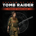 Shadow of the Tomb Raider: Force of Chaos Gear PlayStation 4 Front Cover